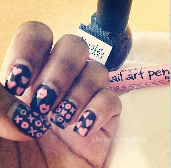 Sheer Beauty: Instagram Nail Art