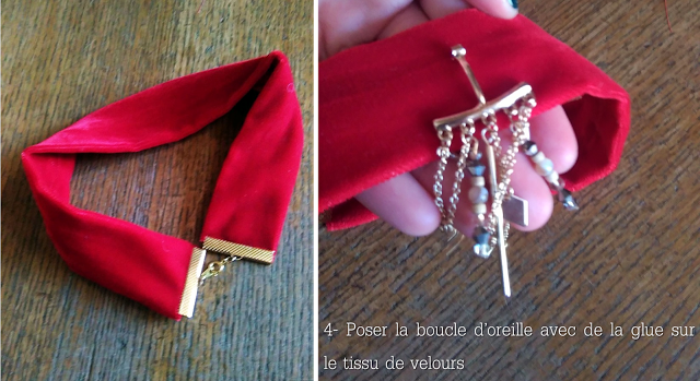 diy-necklace-red-velvet-Choker-collier