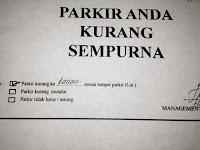 Picture: Hati-Hati Dengan Cara Parkir Anda