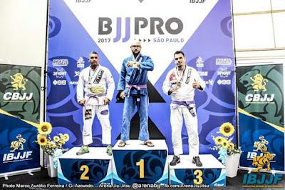 """Alliance Jiu-Jitsu Registro-SP conquista medalha no """"SÃO PAULO BJJ PRO 2017"""