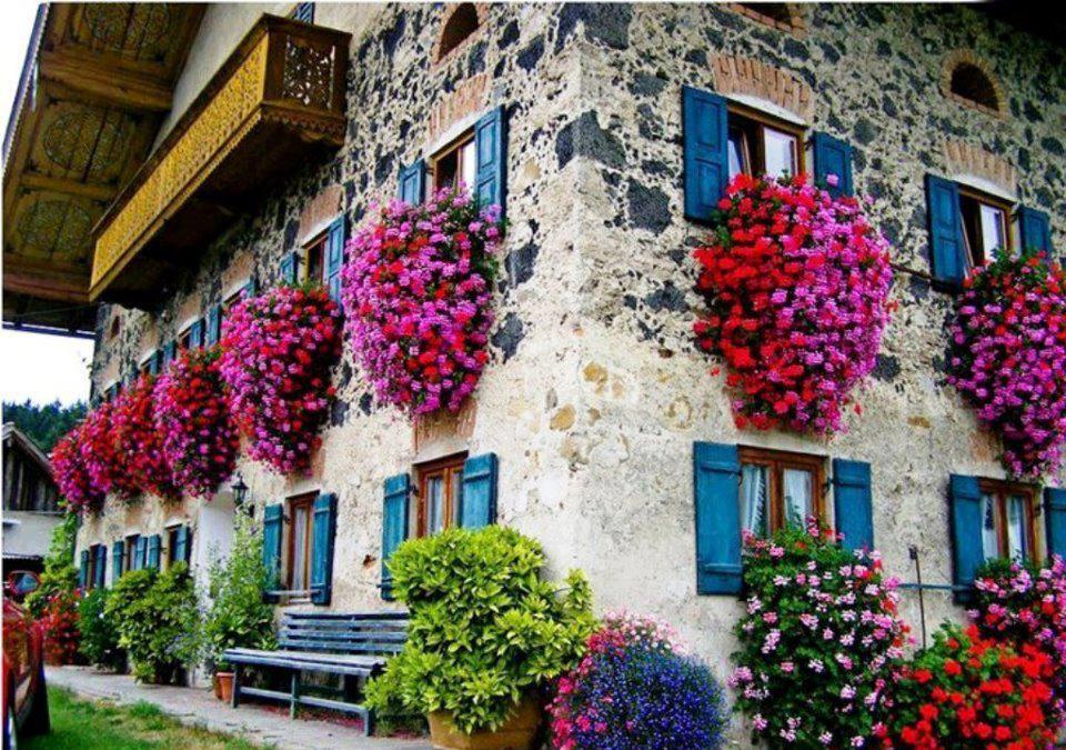 Fotografias Y Fotos Para Imprimir Fotografias De Balcones Con Flores - Fotos-de-balcones-con-flores