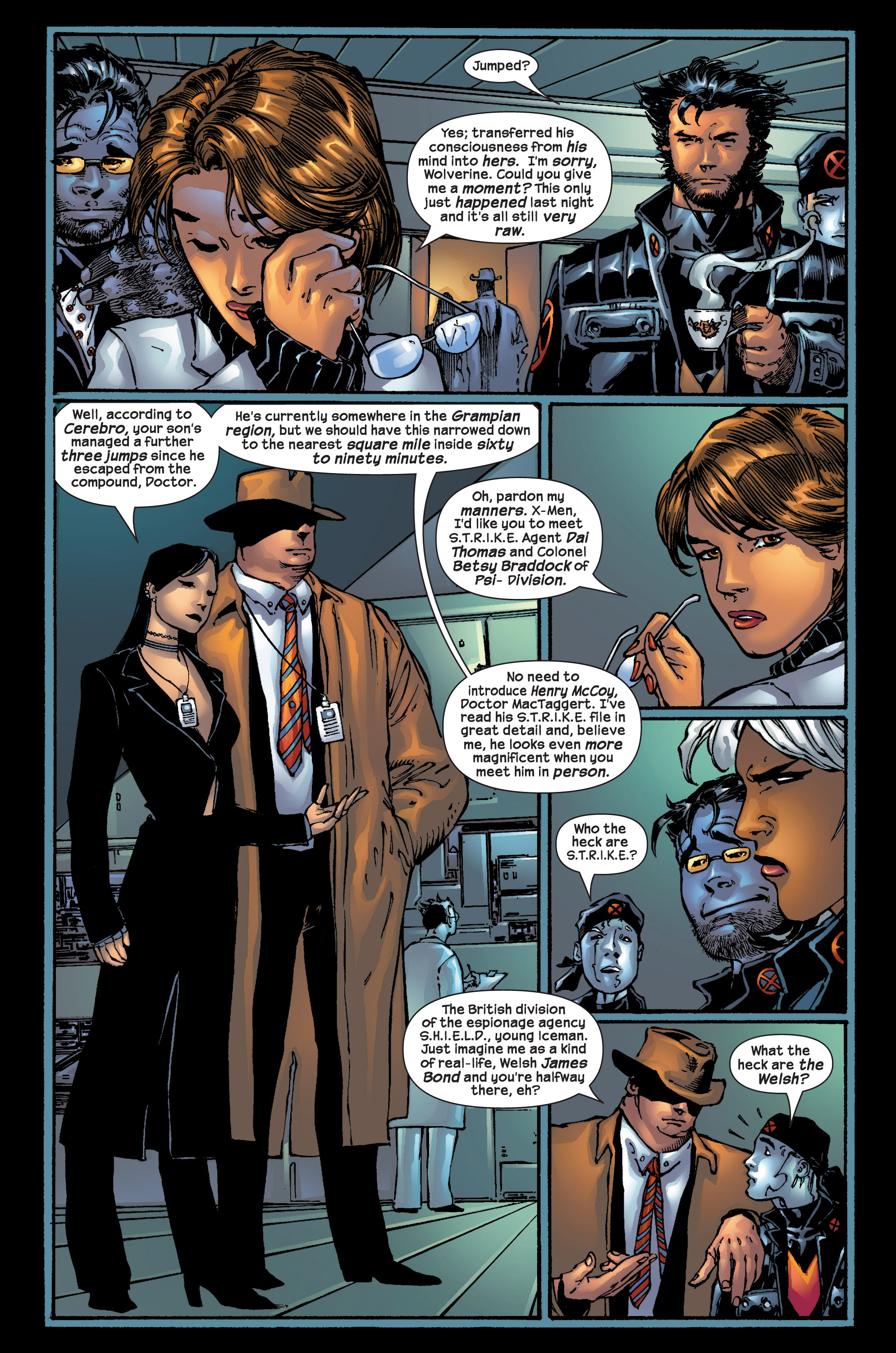Read online Ultimate X-Men comic -  Issue #17 - 7
