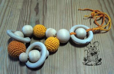 вязание для детей, вязаный грызунок, слингобусы, слингоаксессуары