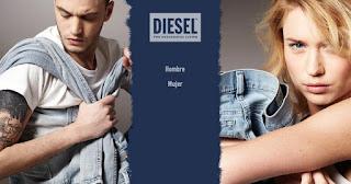 Vaqueros de marca Diesel para chica o chico en oferta