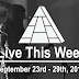 Live This Week: September 23rd - 29th, 2018