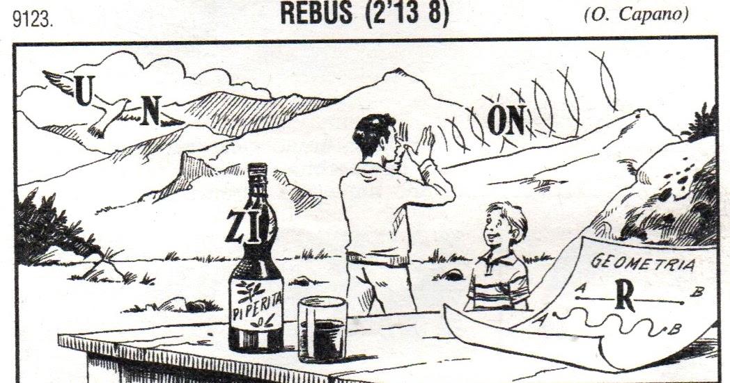 La vita è tutta un quiz: Rebus 9123