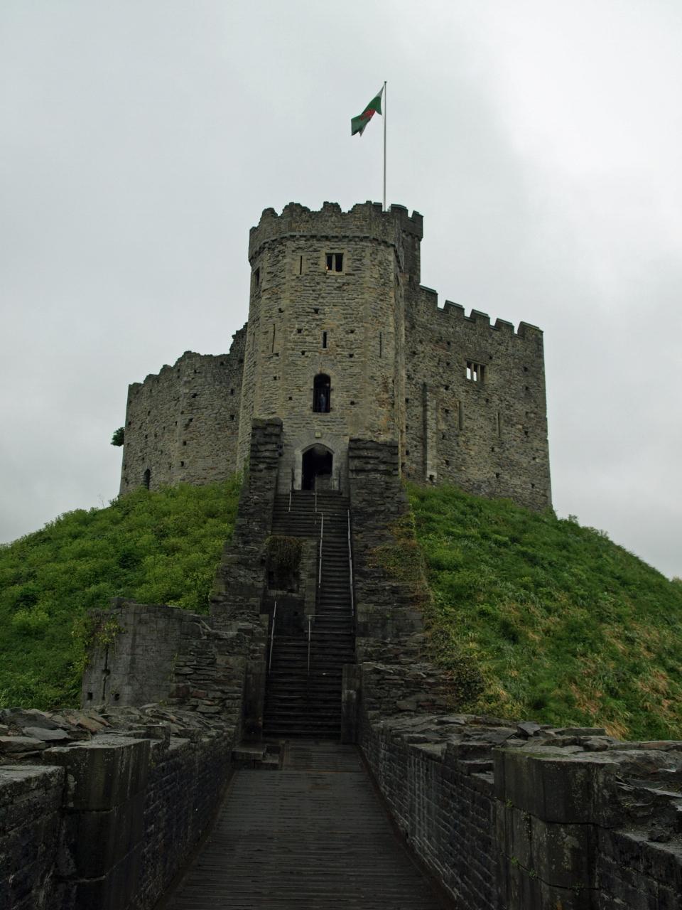 Prufrocks Dilemma Wales Diary Cardiff Castle