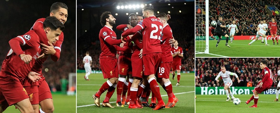 Image result for liverpool vs spartak moscow