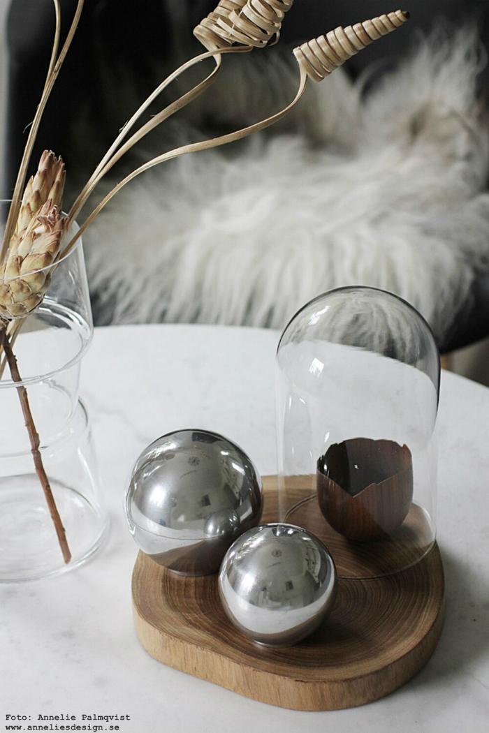 annelies design, aluminium, bollar, skål. skålar, naturblommor, ananas, spiralblomma, blommor, torkade, växter, dekoartionsfat,