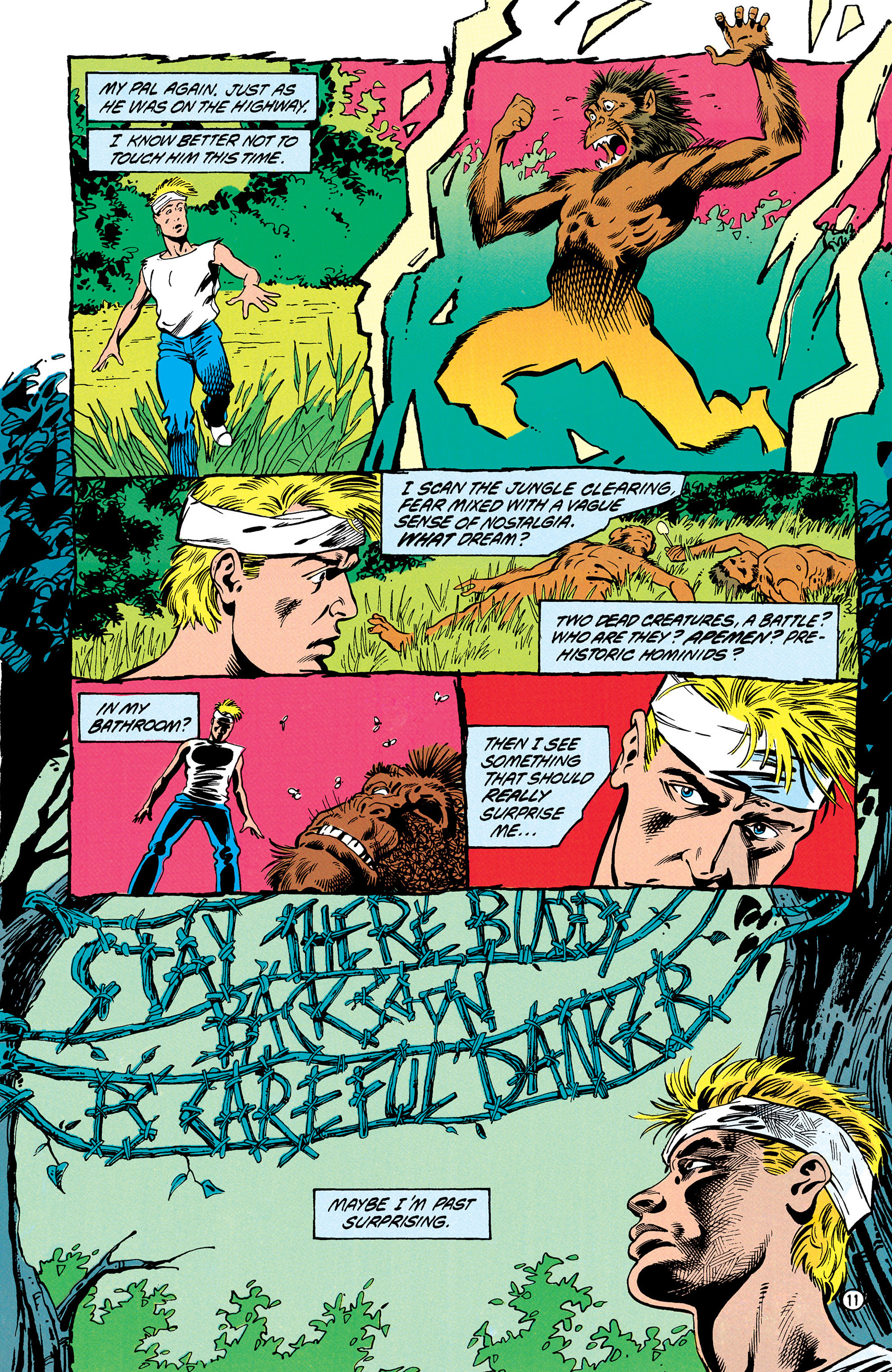 Read online Animal Man (1988) comic -  Issue #30 - 12