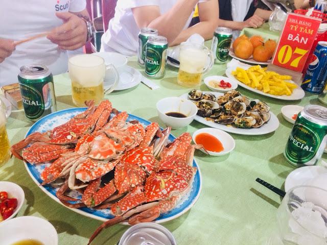 Crabs are delicious!