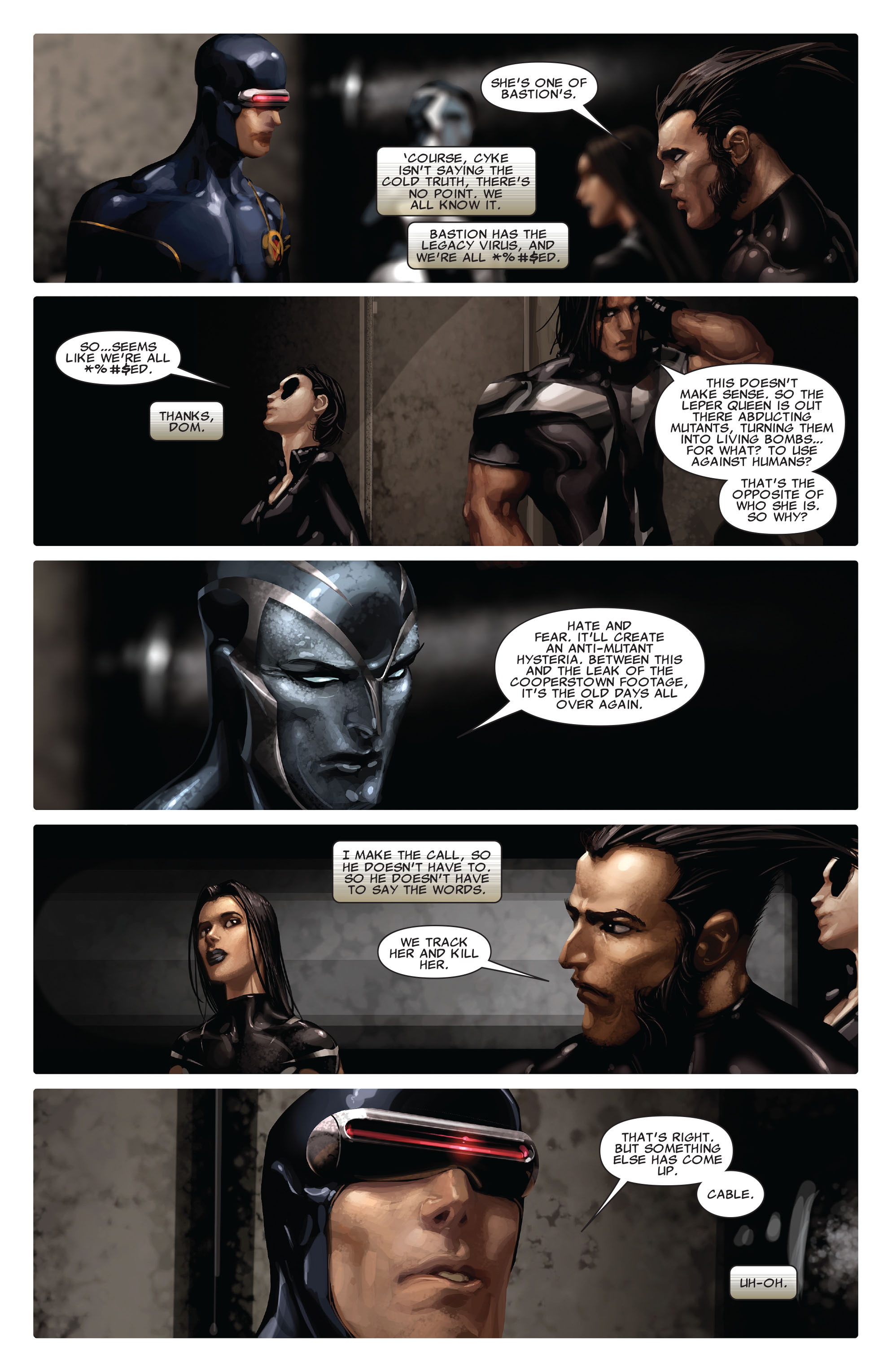 Read online X-Force (2008) comic -  Issue #13 - 7