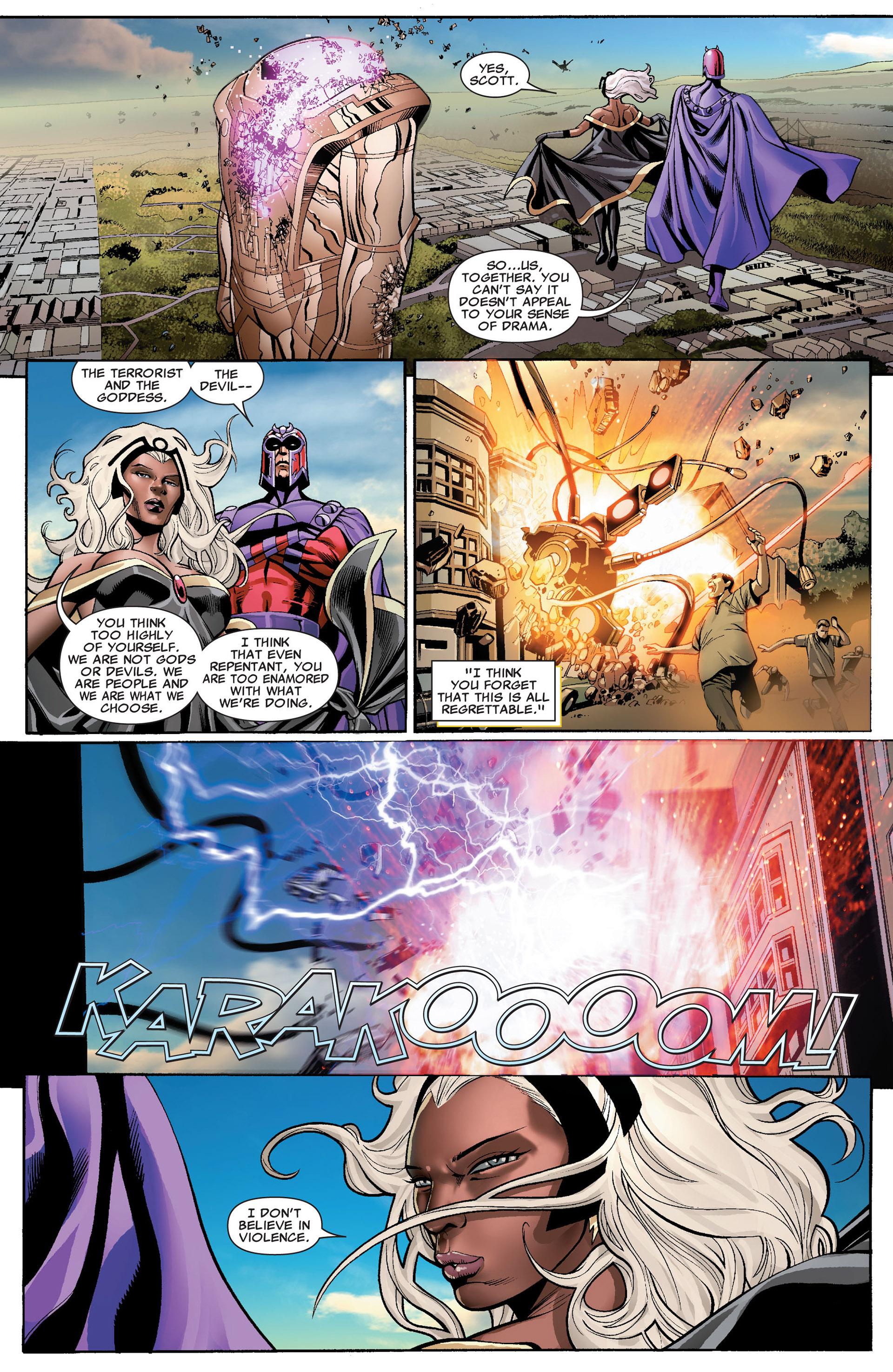 Read online Uncanny X-Men (2012) comic -  Issue #1 - 22