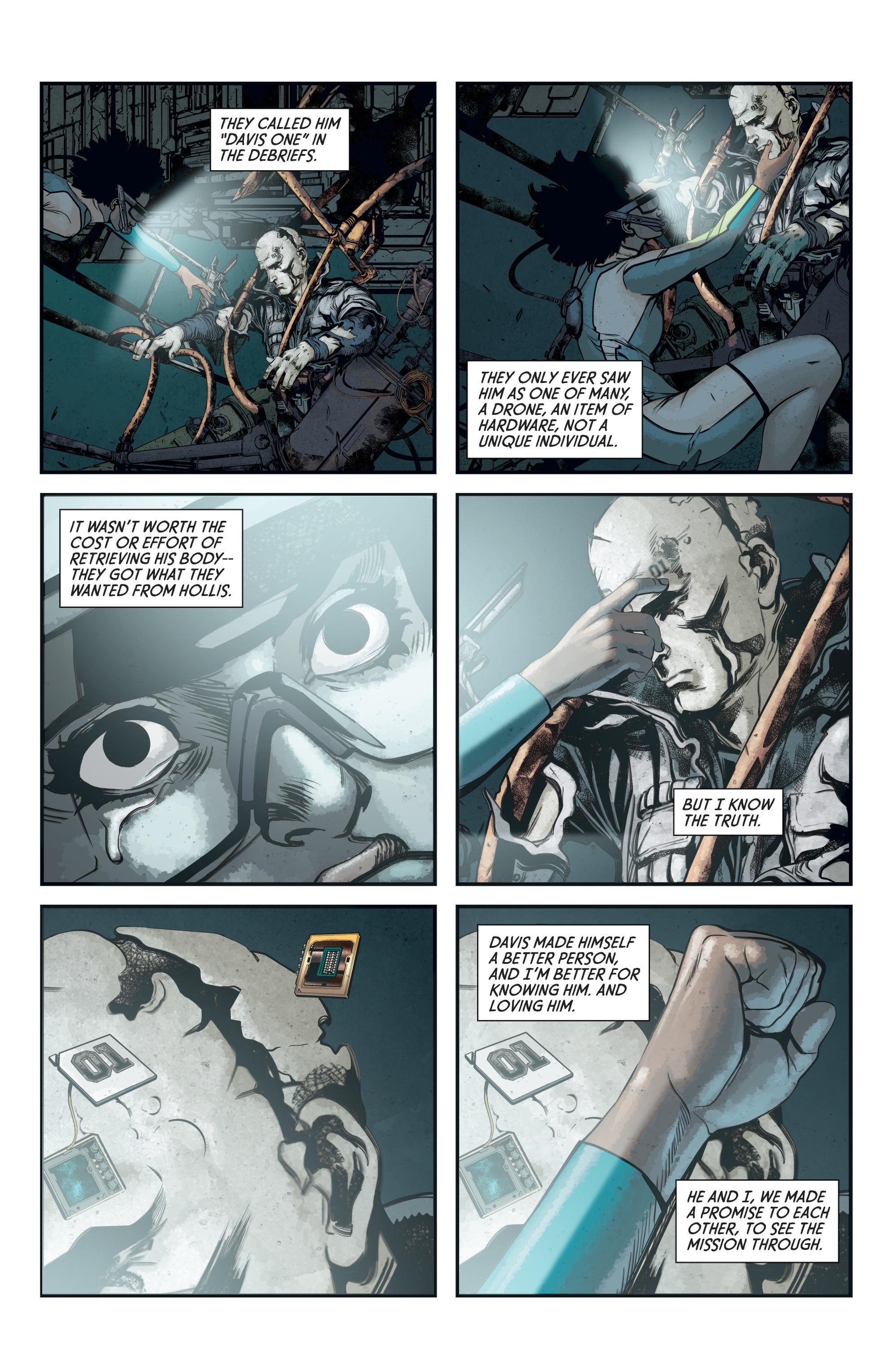 Read online Aliens: Defiance comic -  Issue #12 - 23