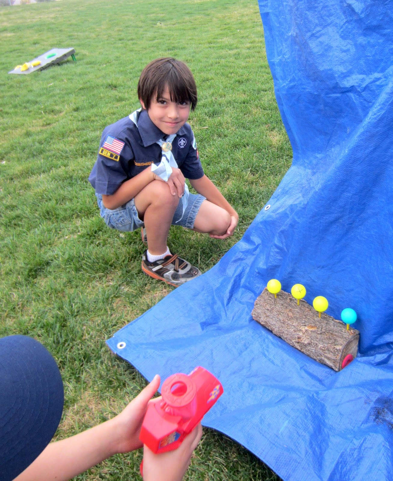Cub Scout Carnival Game Easy Shooting Gallery