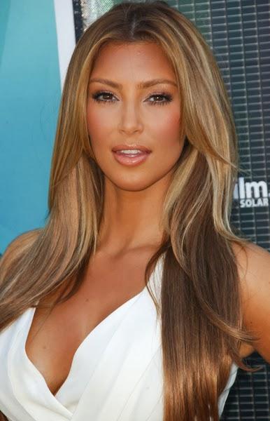 Kim Kardashian Blonde Hair 69