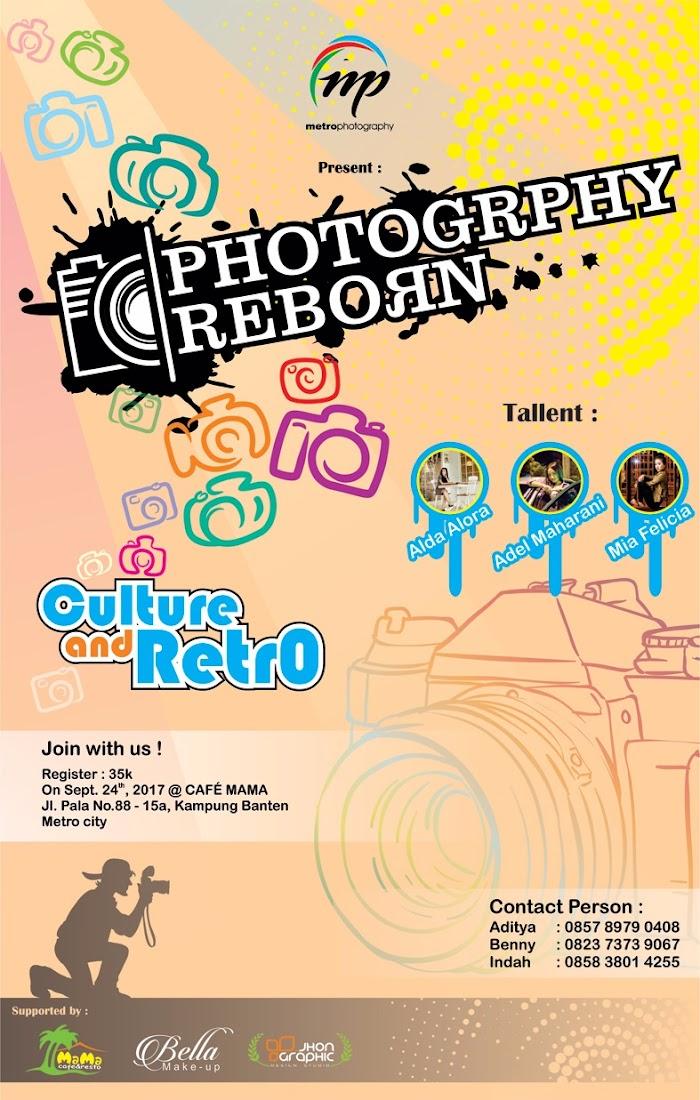 Acara Reborn Photography Pindah ke Cafe Mama