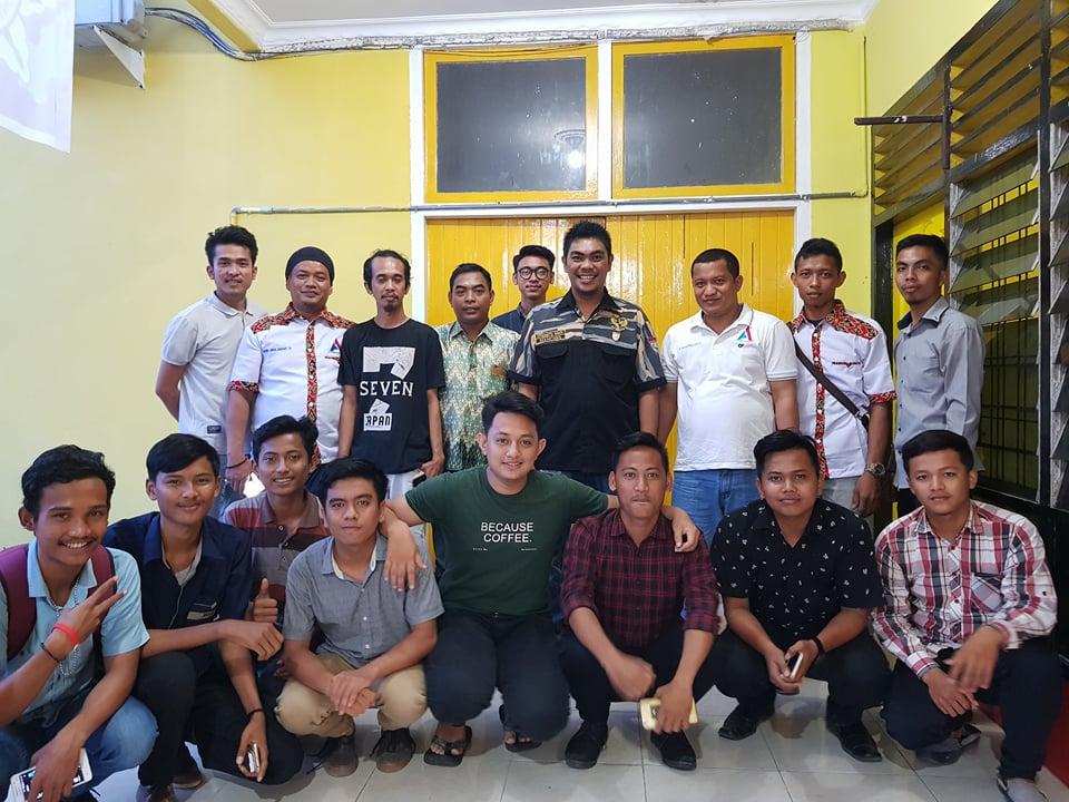 Khairul Anhar Harahap foto bersama