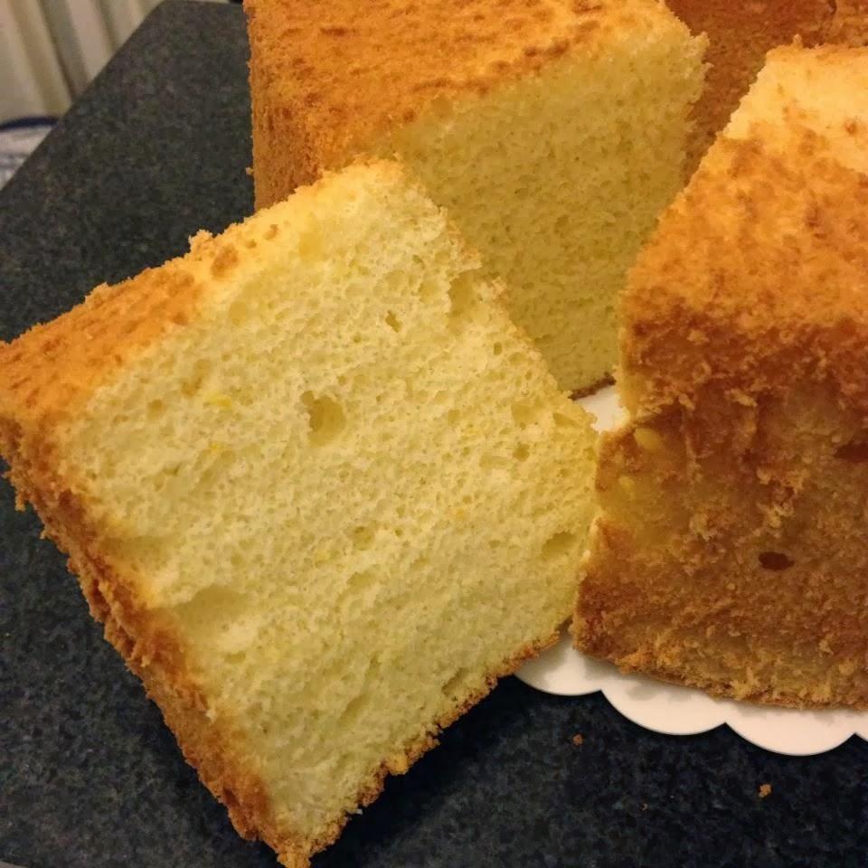 Baking Chiffon Cake In Glass