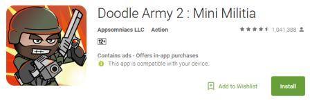 Doodle Army 2:Mini Militia-www.missingapk.com