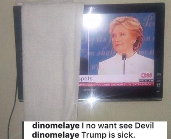 Donald Trump is sick - Dino Melaye