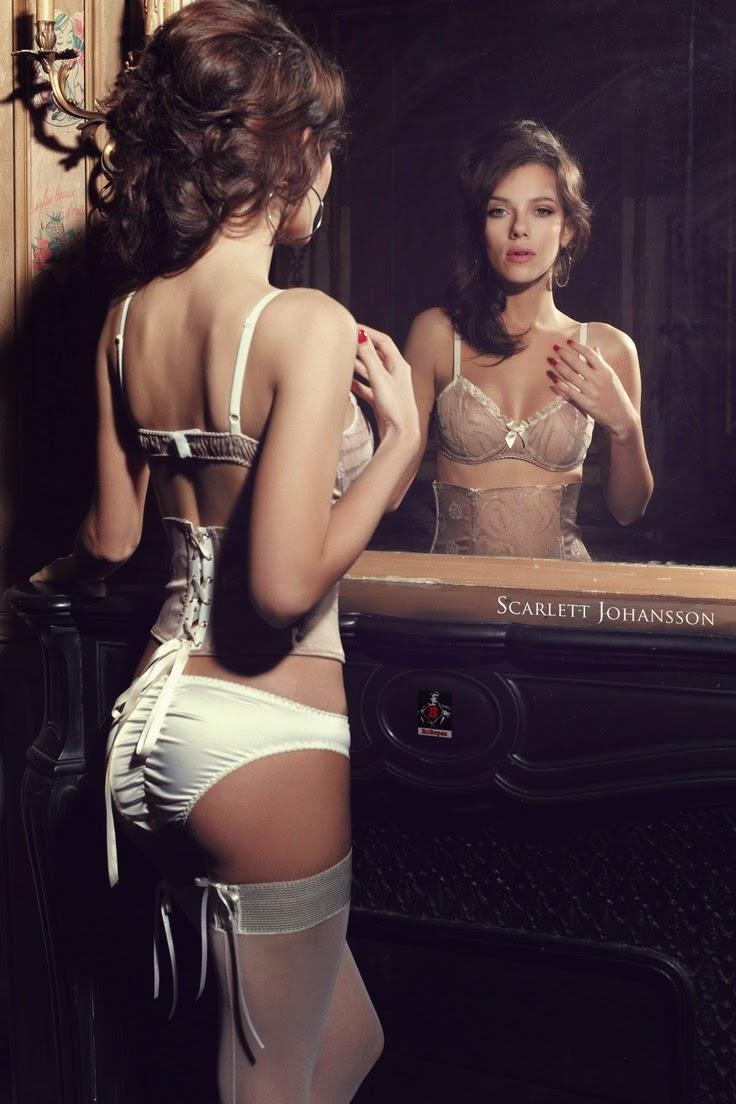 Scarlett johansson lingerie