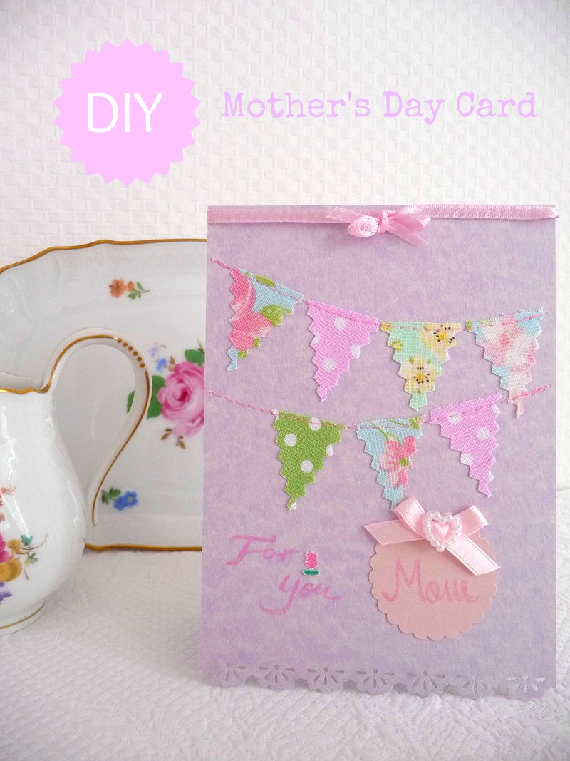 the clay geek's blog scrap paper mother's day card diy