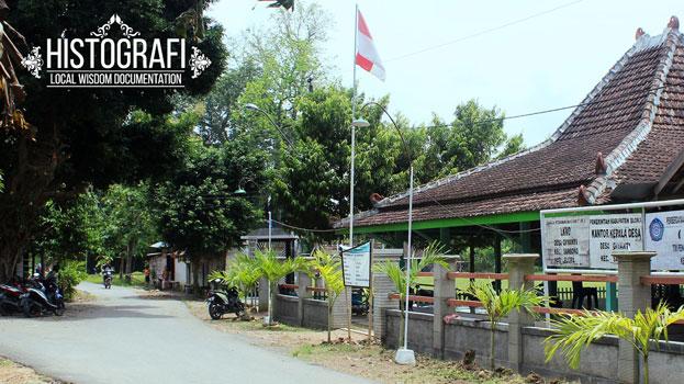 histografi - kearifan lokal local wisdom pendopo desa giyanti kecamatan sambong kabupaten blora