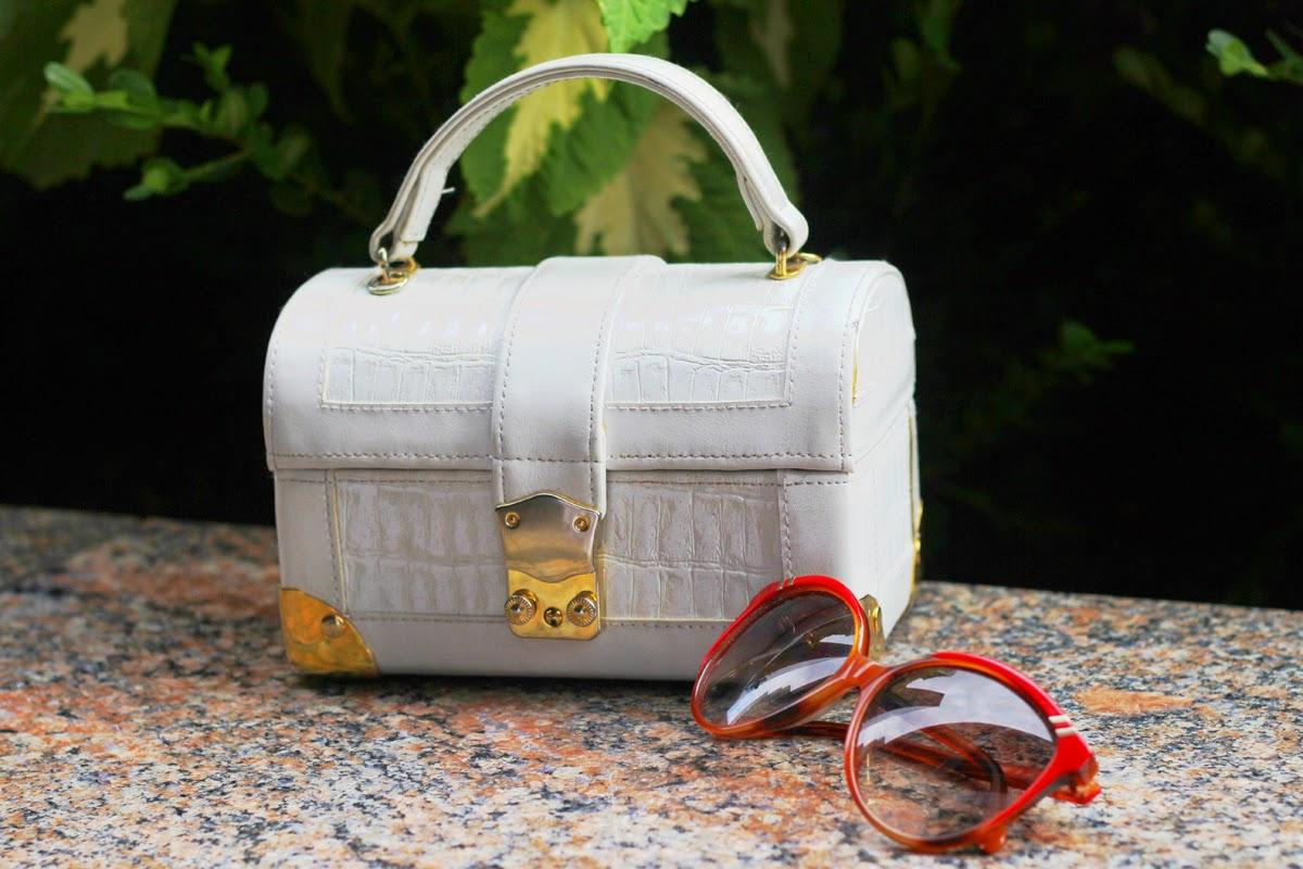 vintage tasche chloe sonnen brille new york detail outfit