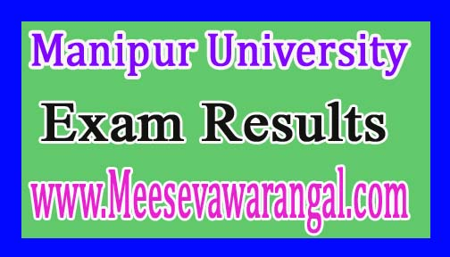 Manipur University MA Political Sci IInd Sem New June 2016 Exam Results