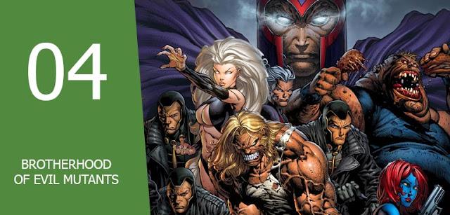 kelompok supervillain terbaik musuh superhero