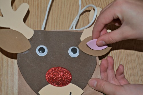 Reindeer gift bag kits from yellowmoon UK