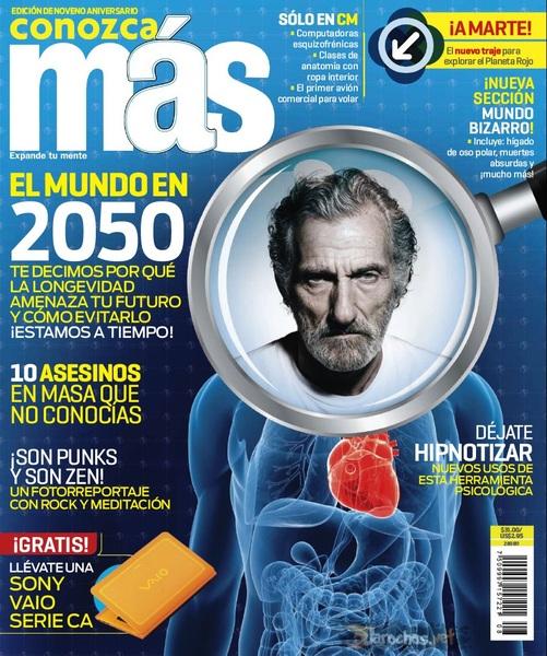 Revista Conozca Mas: Mexico Agosto 2011, El mundo en 2050