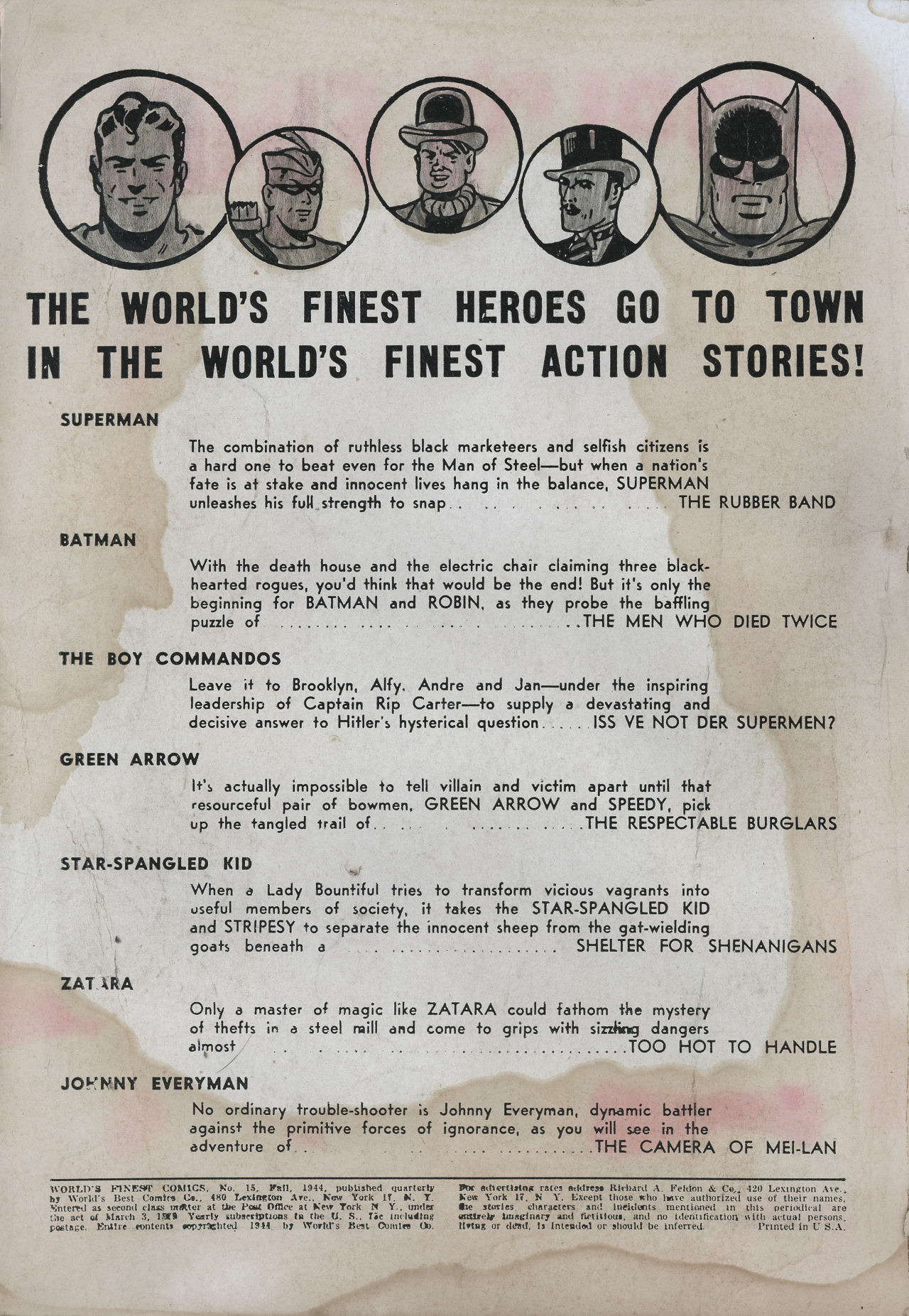 Read online World's Finest Comics comic -  Issue #15 - 3