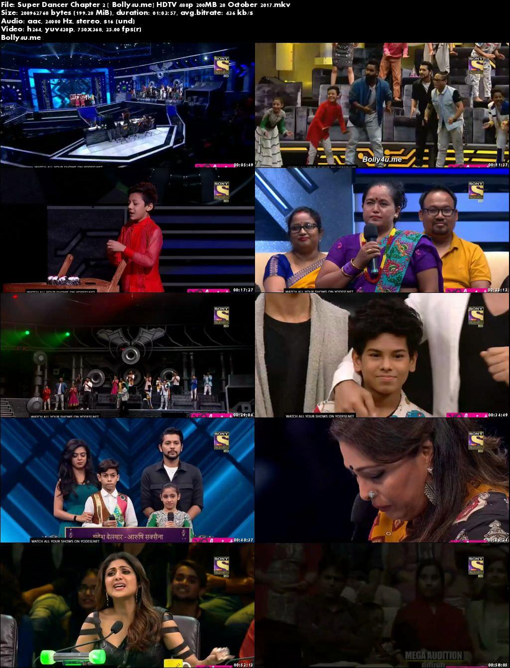 Super Dancer Chapter 2 HDTV 480p 200MB 28 October 2017 Download