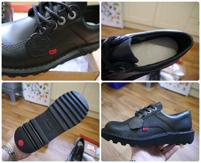 d668cd8e28a900 JJ chose a pair of Kickers Kick Lo men s shoes that retail for £69.99.  Again like Miss E s shoes these are really sturdy and have what looks to be  an ...