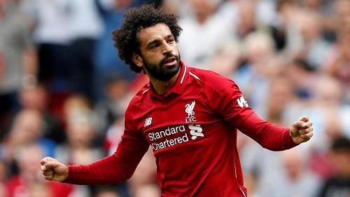 Salah dẫn đầu danh sách ghi bàn ở Liverpool