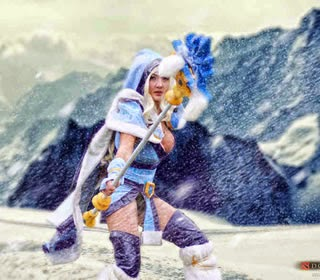 Crystal Maiden (Rylai) DOTA photo 2