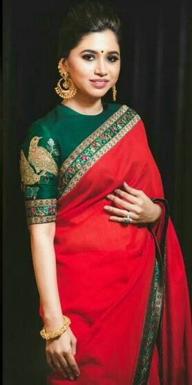 30 Latest High Neck Blouse Designs For Sarees Trendingpatterns