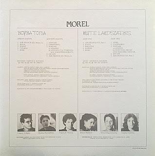 Morel - (1988) Βουβά Τοπία - Mute Landscapes_back