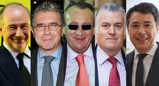 """Las """"mil caras"""" de la corrupción española"""