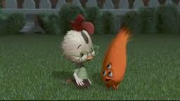 Chicken little and alien baby Chicken Little 2005 animatedfilmreviews.filminspector.com