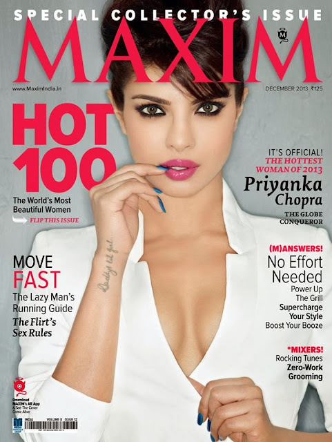 Priyanka Chopra crowned Maxim's HOTTEST woman of 2013