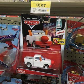 pixar cars circus pickup super chase
