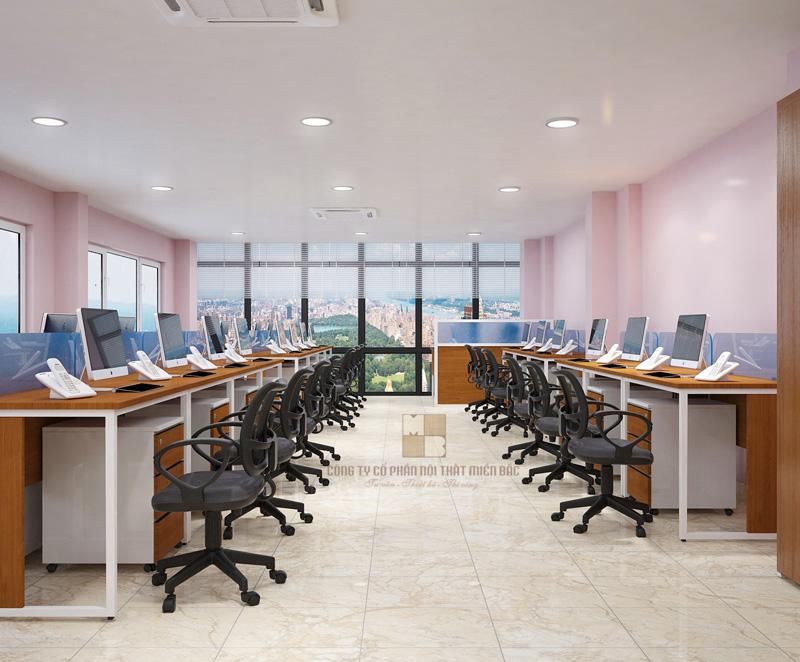 Thiết kế nội thất văn phòng họp không gian mở