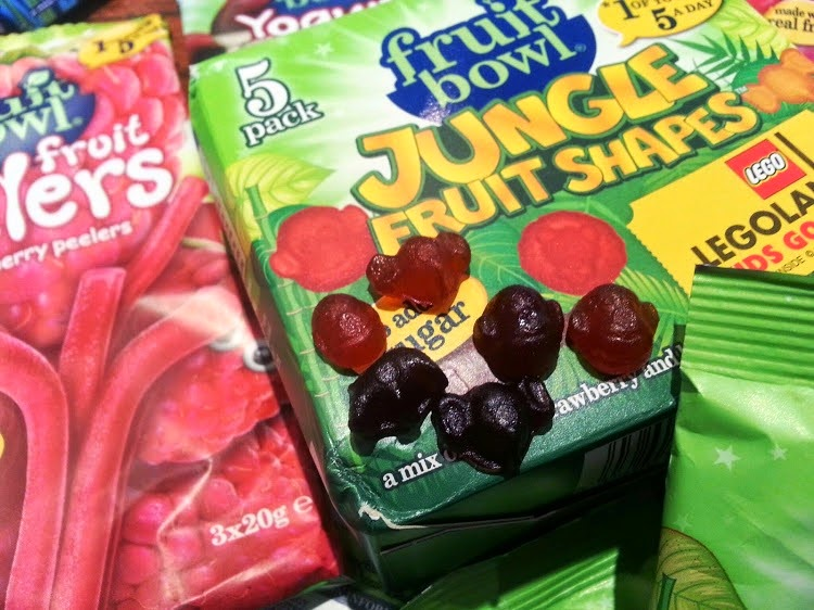 FruitBowl children's fruit snacks Jungle and Sea review