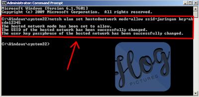 Cara Membuat WiFi atau Hosted Network dengan Cmd