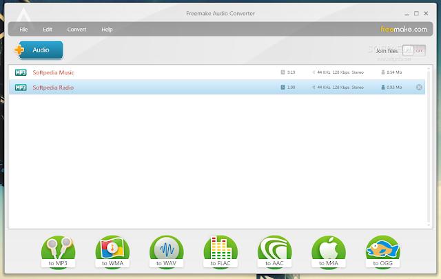 تحميل برنامج تحويل الاغانى الى mp3 مجانا للكمبيوتر Free MP3 Converter 3.2