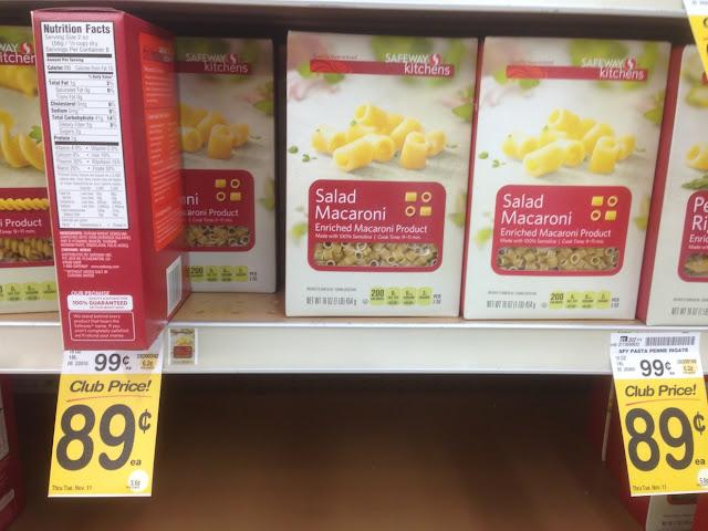 Salad Macaroni, Safeway Kitchens - Safeway