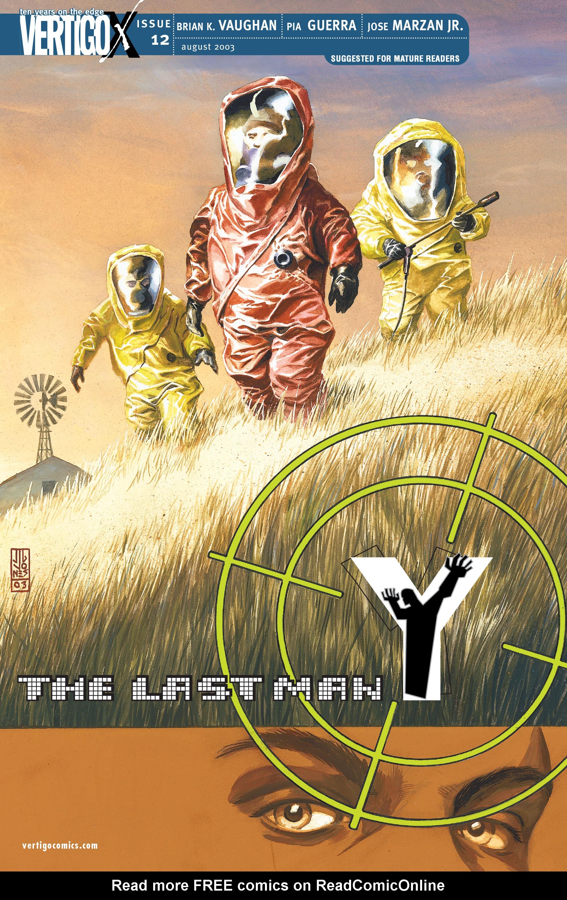 Y: The Last Man (2002) 12 Page 1
